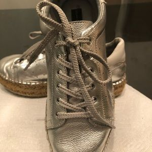 Fun Silver Shoes